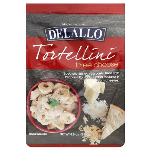 Delallo Tortellini Three Cheese (12x8.8 OZ) Delallo Tortellini Three Cheese (12x8.8 OZ)