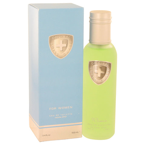 Swiss Guard by Swiss Guard Eau De Toilette Spray 3.4 oz