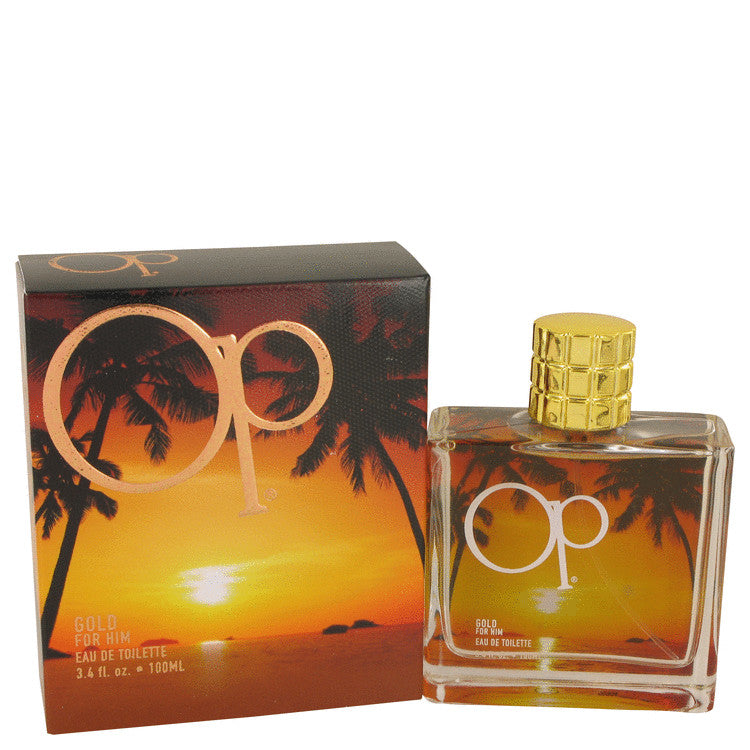 Ocean Pacific Gold by Ocean Pacific Eau De Toilette Spray 3.4 oz Eau De Toilette Spray 3.4 oz