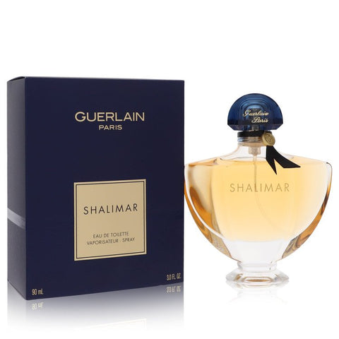 SHALIMAR by Guerlain Eau De Toilette Spray 3 oz Eau De Toilette Spray 3 oz