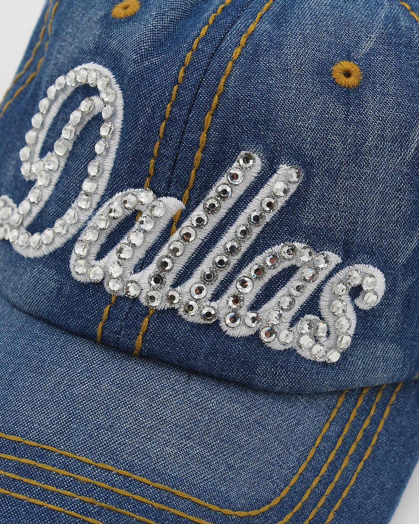 Dallas Rhinestone Cap