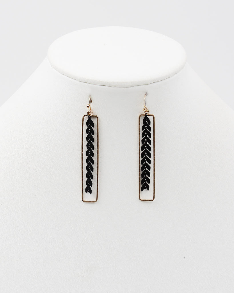 Southwestern Stone Dangle Earrings