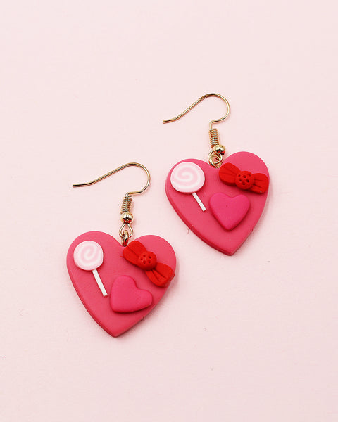 Southwestern Stone Fan Shaped Earrings