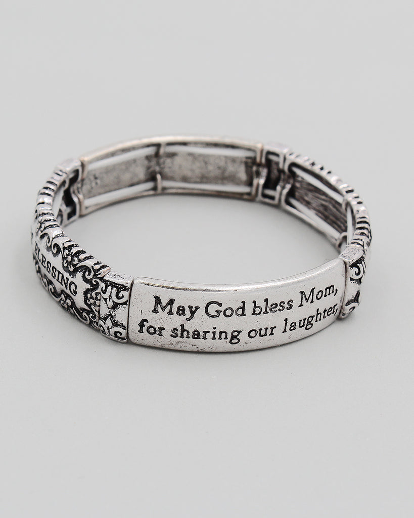 Mom's Blessing Stretch Bracelet