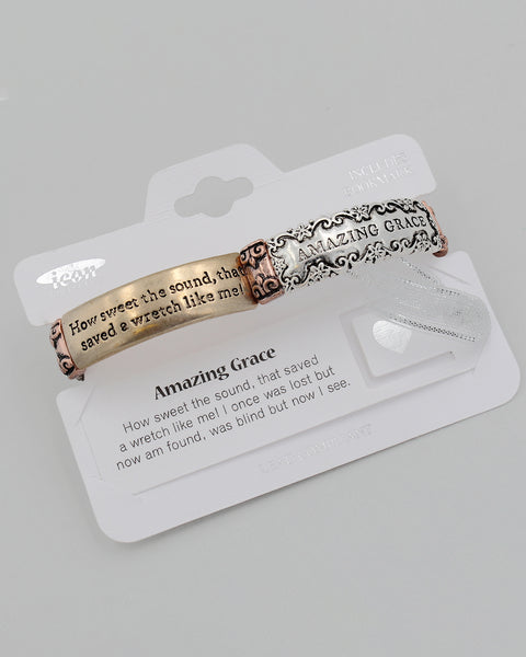 Amazing Grace Inspirational Stretch Bracelet