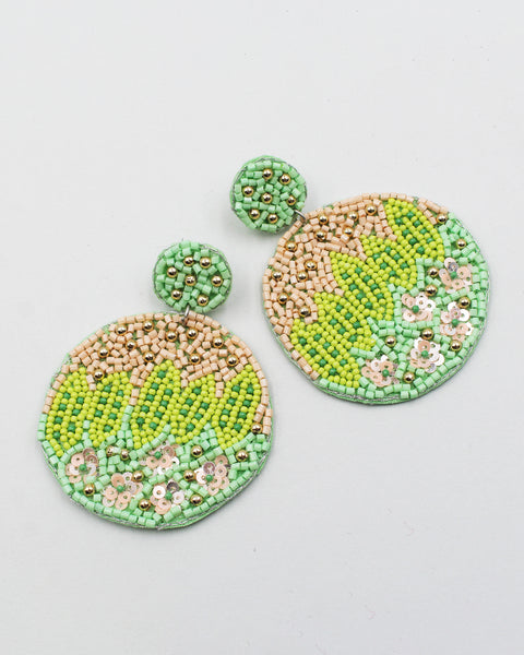 Seed Bead Mask Chain Holder
