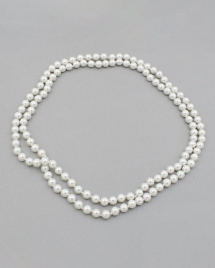 "Classic 48"" Pearl Strand Necklace"