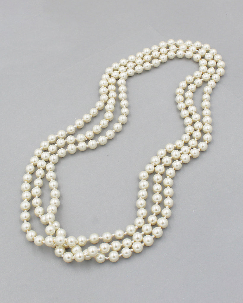"Classic 72"" Pearl Strand Necklace"
