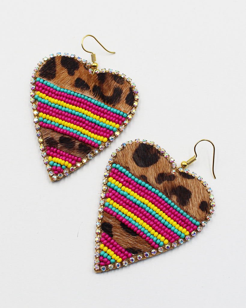 Chunky Dangle Earrings - Sam Moon - 2