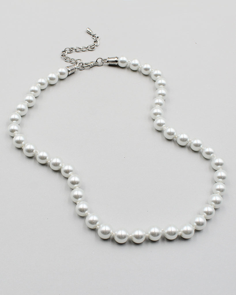 "18"" Classic Single Strand Pearl Necklace"