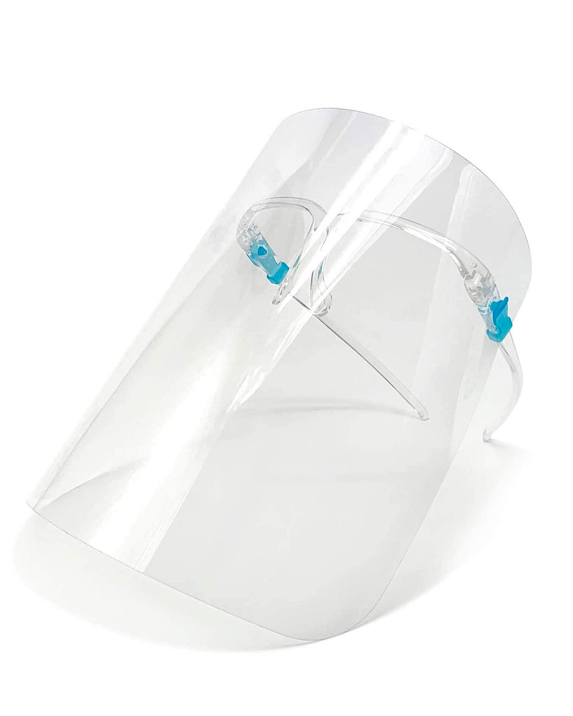 Face Shield with Protective Glasses