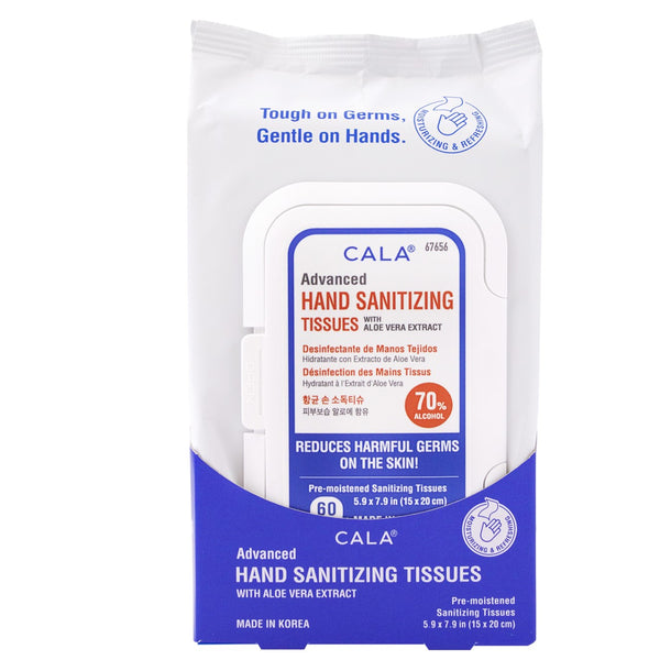 Advanced Hand Sanitizing Tissues (60 Sheets)