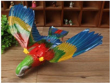 1pcs Electric eagles Electric parrot with sound and light can fly electronic toys birthday gifts for kids and children toys