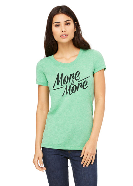 More is More Short Sleeve Tee