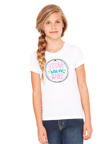 Girl's YS&F Short Sleeve Tee