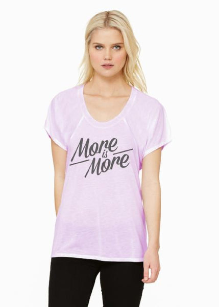 More is More Short Sleeve Flowy Tee