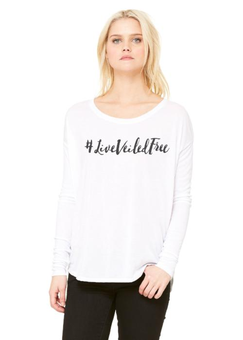 #liveveiledfree Long Sleeve Tee