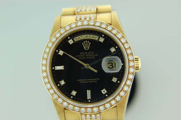 All Original Yellow Gold Rolex Day-Date