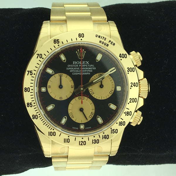 Rolex Daytona Yellow Gold