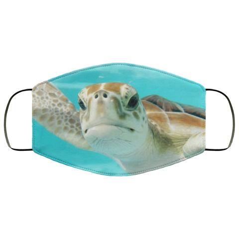 Sea Turtle Face Mask