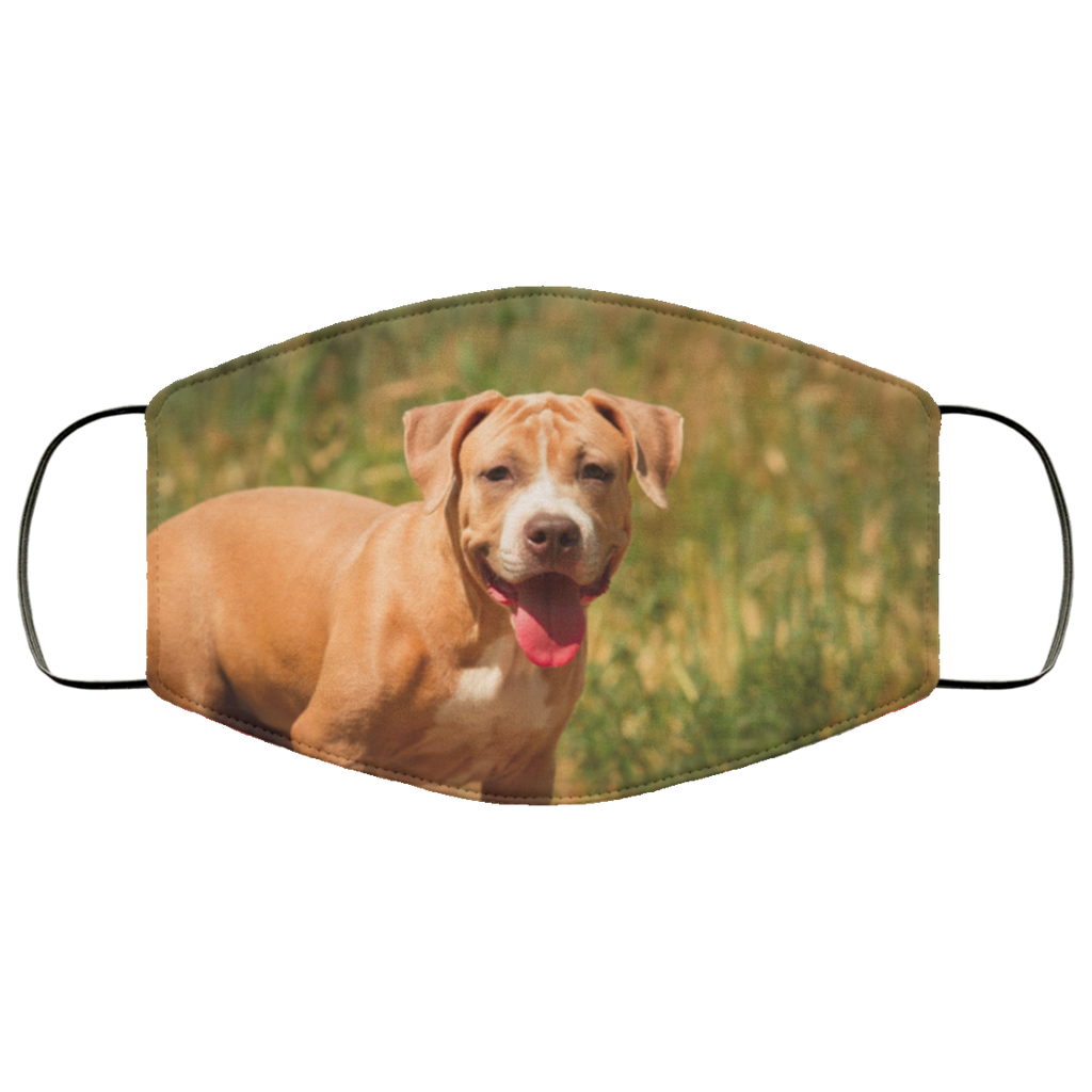 Staffordshire Bull Terrier Face Mask