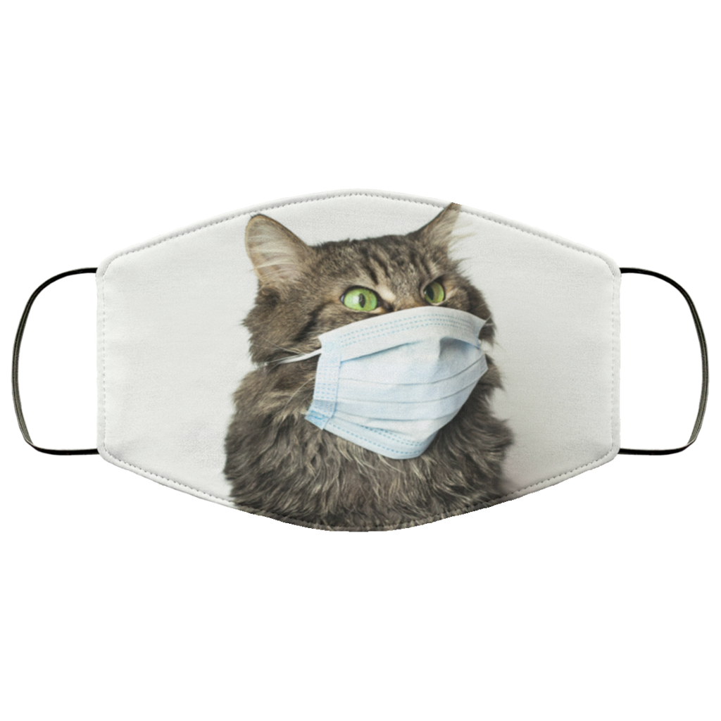 Quarantine Cat Face Mask