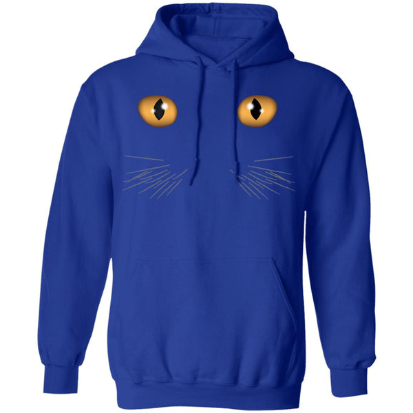 royal blue Cat Eyes Pullover Hoodie Gift For Men