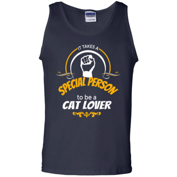 Navy Tank Top It Takes A Special Person To Be A Cat Lover
