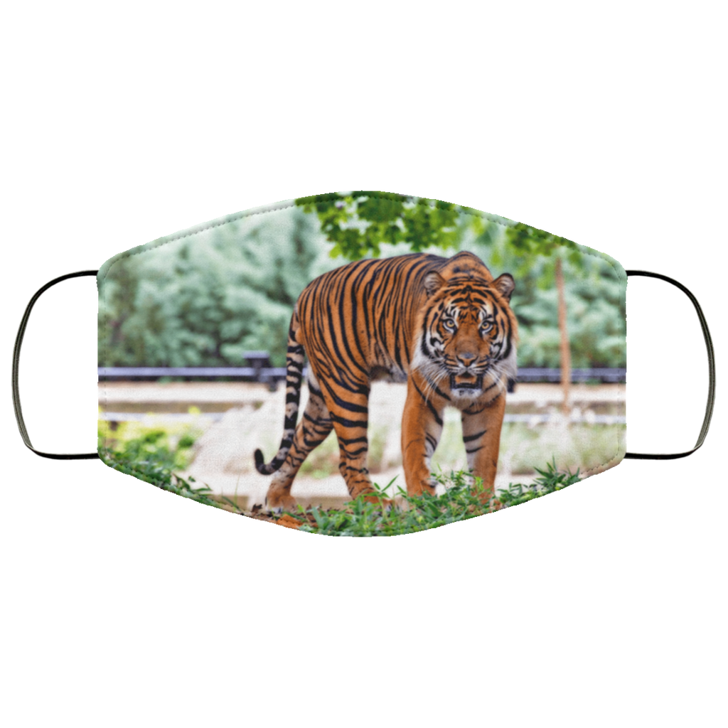 tiger lovers face mask