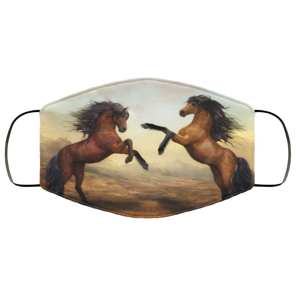 Horse Art Face Mask