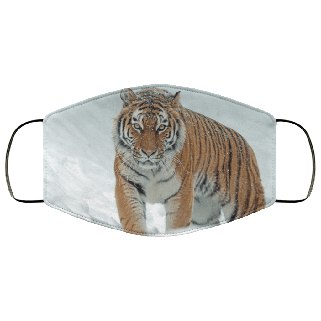 Lightweight Snow Tiger Adult Face Mask