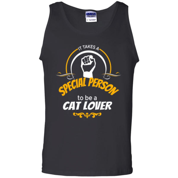 Black Tank Top It Takes A Special Person To Be A Cat Lover