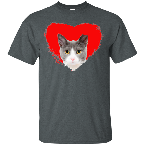 Love Cats Gildan Unisex Cotton T-Shirt