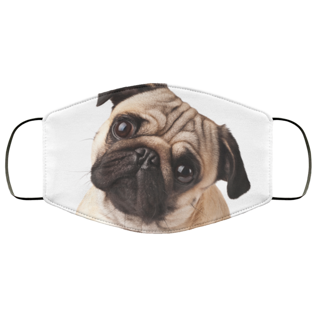Pugs Face Mask