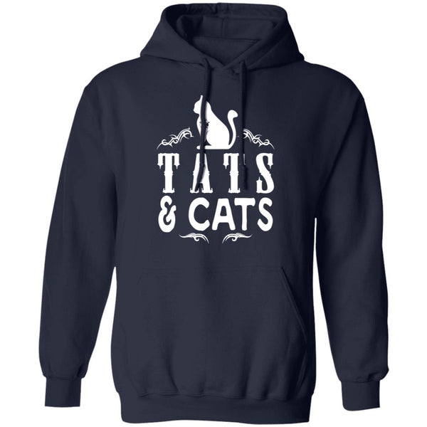 Cats & Tats T-Shirt - Cotton Unisex T-shirt