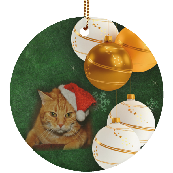 christmas tree ornaments cats