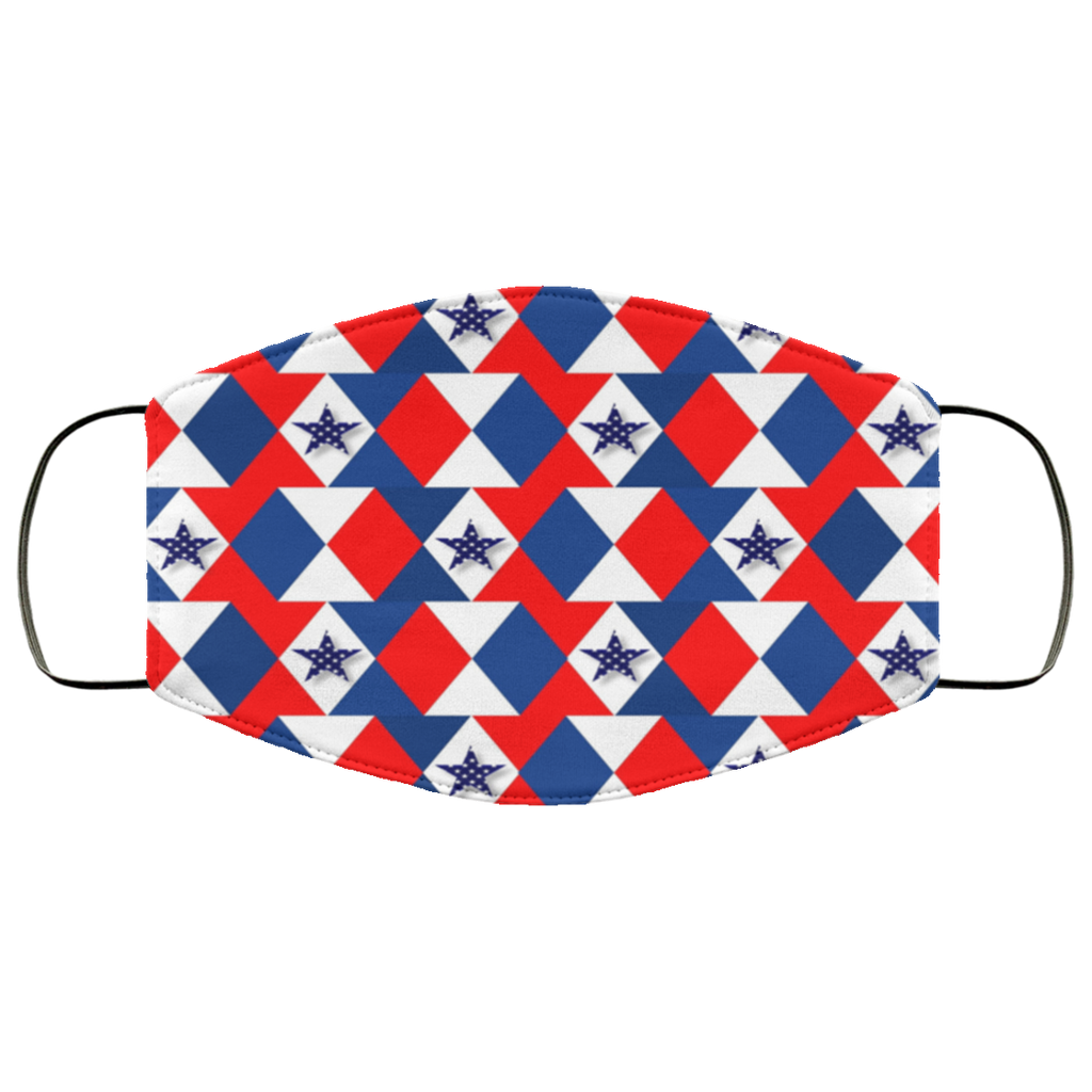 Patriotic Pattern Face Mask