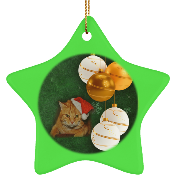 pet christmas ornament cat