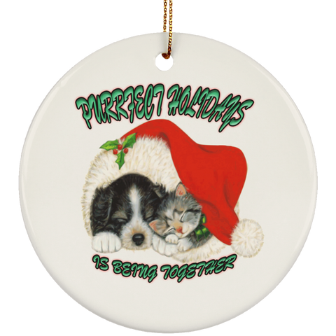 christmas cats ornaments