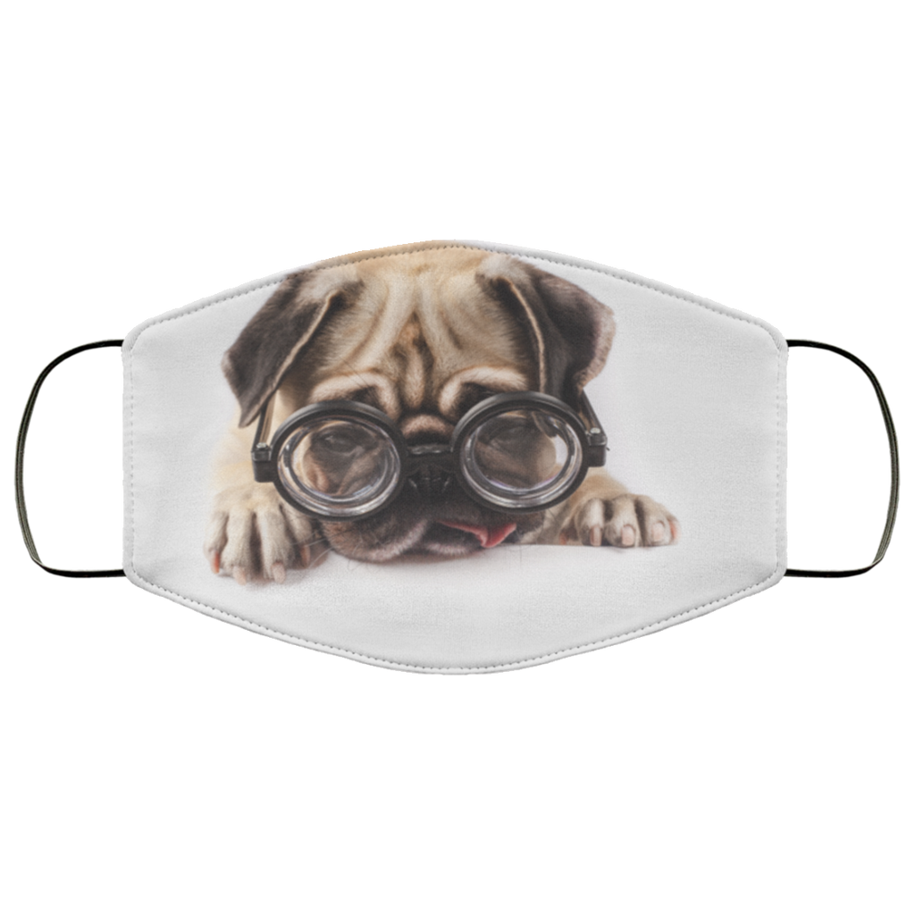 Funny Pugs Face Mask