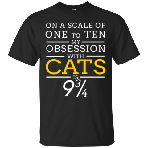 Custom Tee Obsession With Cats