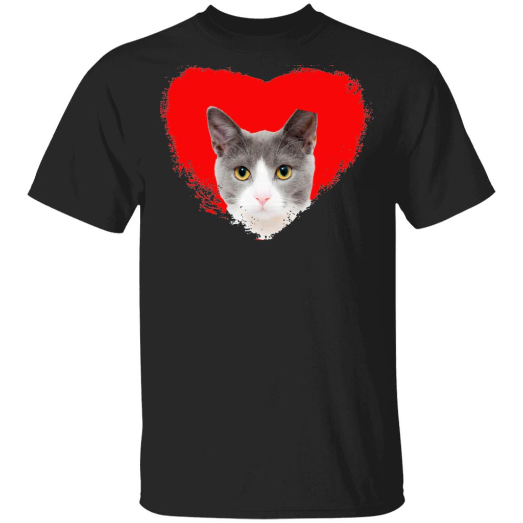 Black Cat T-Shirt I Love Cats