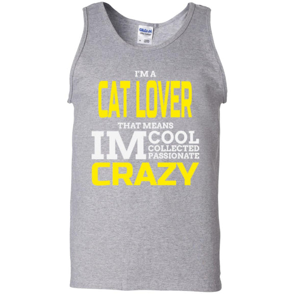 Sport Grey Cat Gift Tank Top