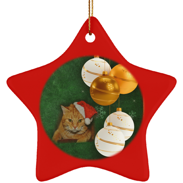 cat in the hat christmas ornaments