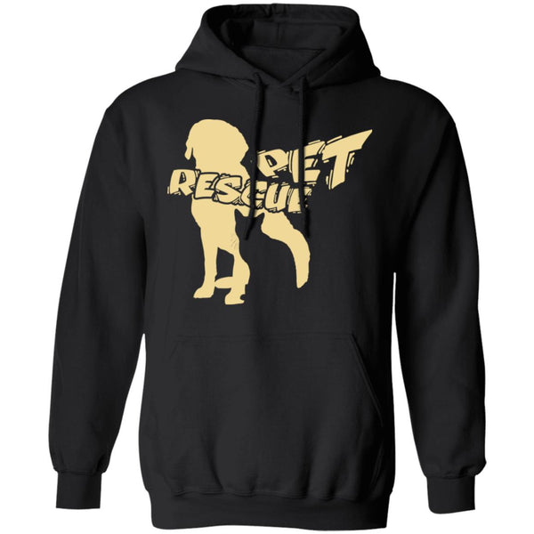 Black Pet Rescue Hoodie Gift For Animal Rescuers