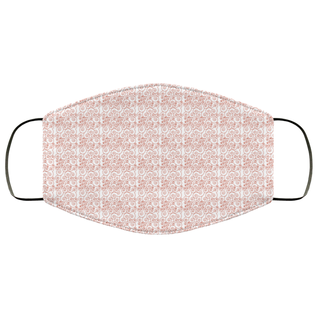 printed adult reusable face mask