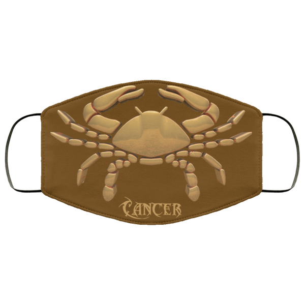 cancer face mask brown