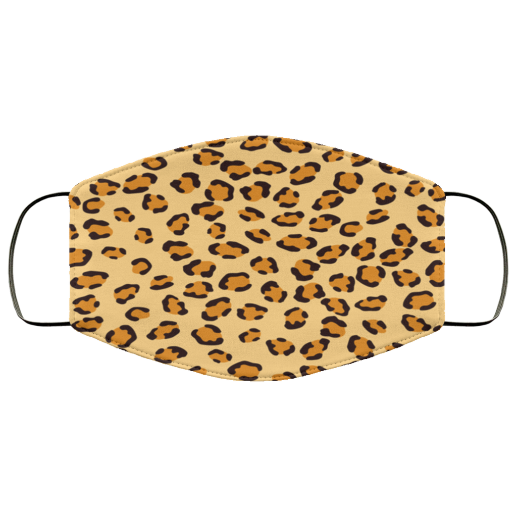 Cheetah Skin Pattern Face Mask