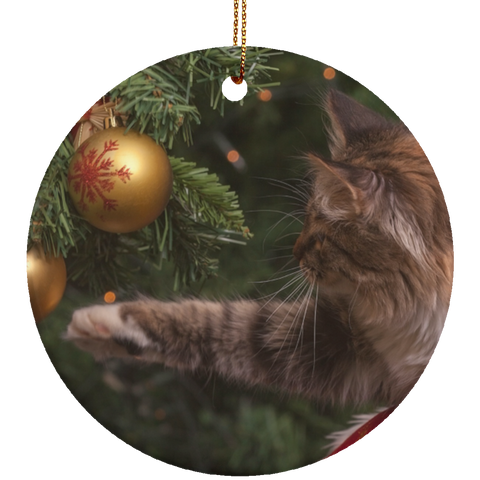 christmas cat ornaments