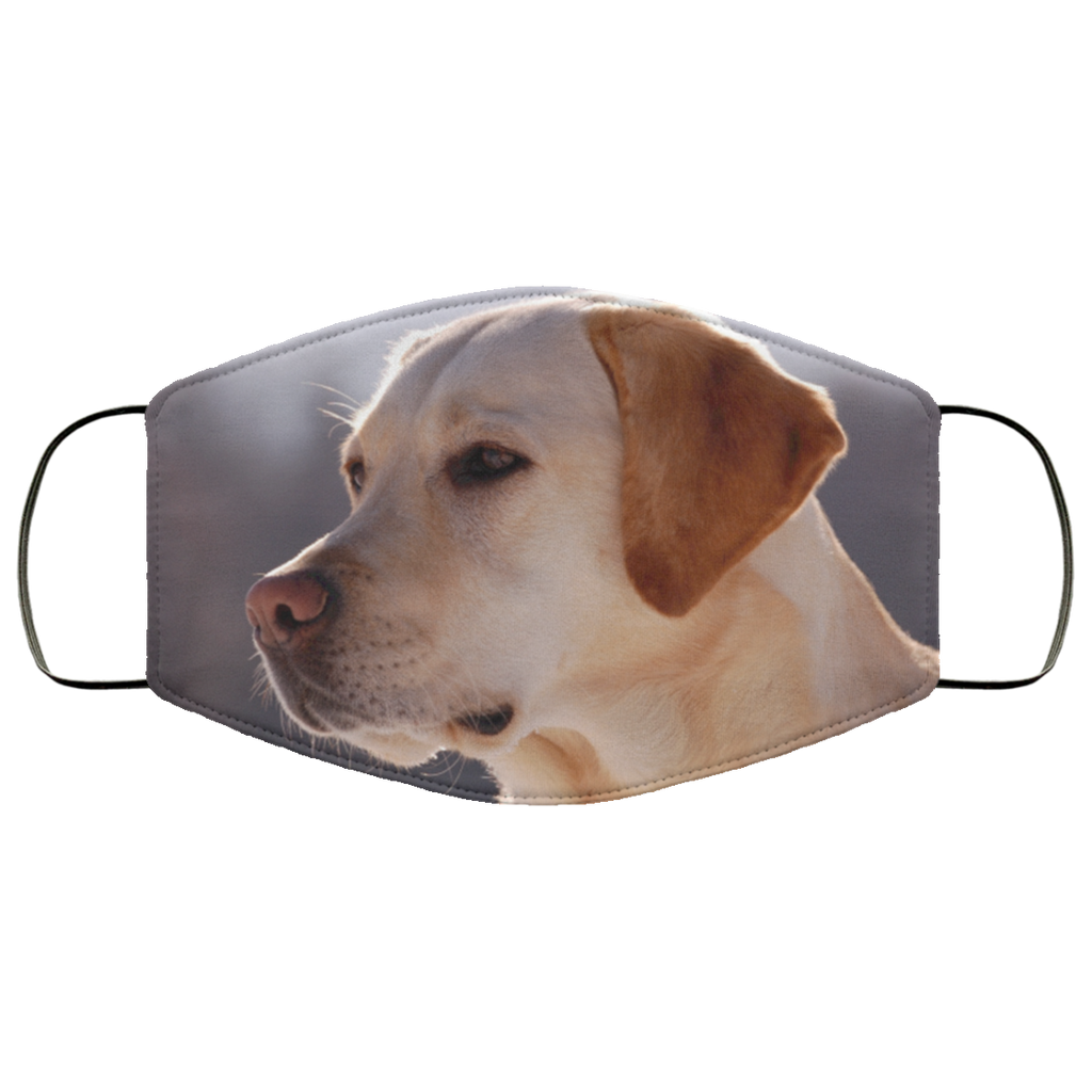 Yellow Lab Face Mask